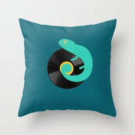 Chamaleon Throw Pillow