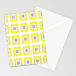 Tribute to mondrian 8- piet,geomtric,geomtrical,abstraction,de  stijl, composition. Stationery Cards