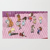 snoopy Area & Throw Rugs featuring O Tenenbaums! by JessLane