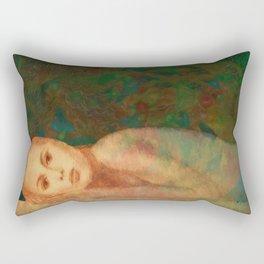 Waiting... Rectangular Pillow