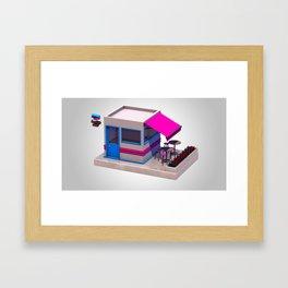 City Bar Framed Art Print