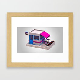 City Bar Framed Art Print