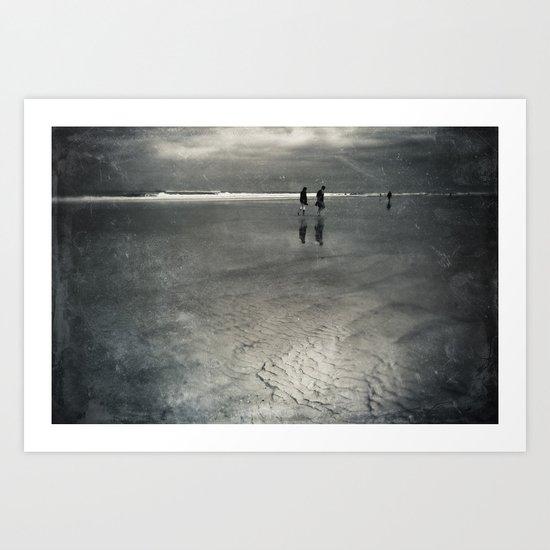 Silver Linings Art Print