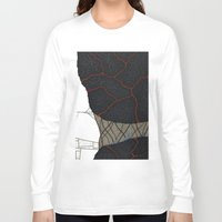 kaiju Long Sleeve T-shirts featuring kaiju by thefleafarm (Amy Wright)