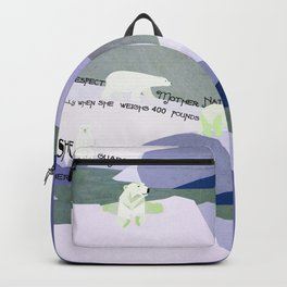 Respect Mother Nature 5 Backpack