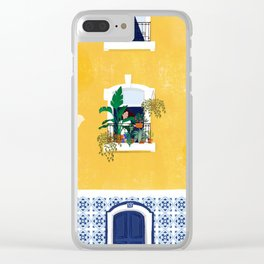 Lisbon girl Clear iPhone Case