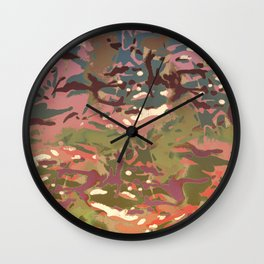 My Most Popular Camo, 2 Dual version! Wall Clock