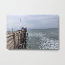 Side Pier Metal Print