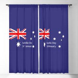 Australia Day Blackout Curtain