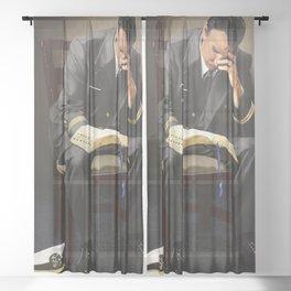 Be Still My Soul (LT) Sheer Curtain