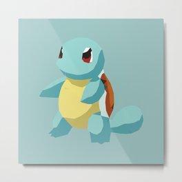 blue turtle Metal Print