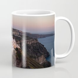 Magic Hour in Thira, Santorini Coffee Mug