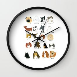 DOG FRIEND Wall Clock
