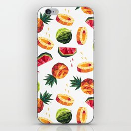 Edgy Tropical Mix iPhone Skin