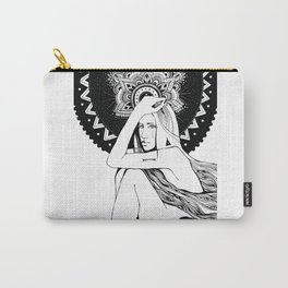 The girl looks into infinity Carry-All Pouch