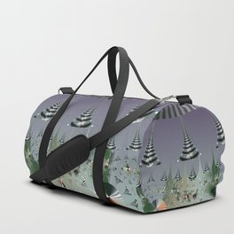 An abstract Christmas tree dream Duffle Bag