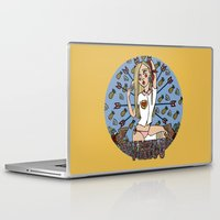 virgo Laptop & iPad Skins featuring VIRGO by Iria Prol