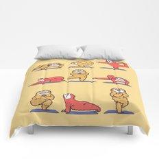 Sloth Yoga Comforters