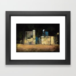 Forsaken Off Sunset Junction Framed Art Print