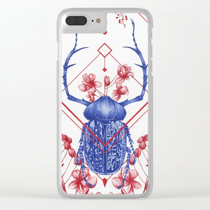 Evolution II Clear iPhone Case