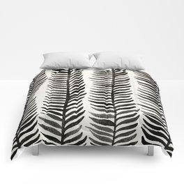 Black Seaweed Comforters