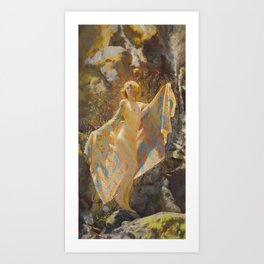 Maiden Of The Mist Art Print