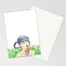 Pea Stationery Cards