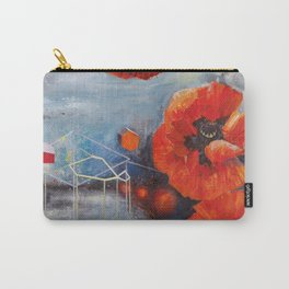 Poppies for K Carry-All Pouch