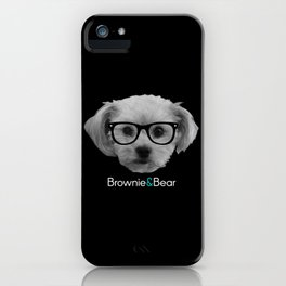 Bear, the love dog! iPhone Case