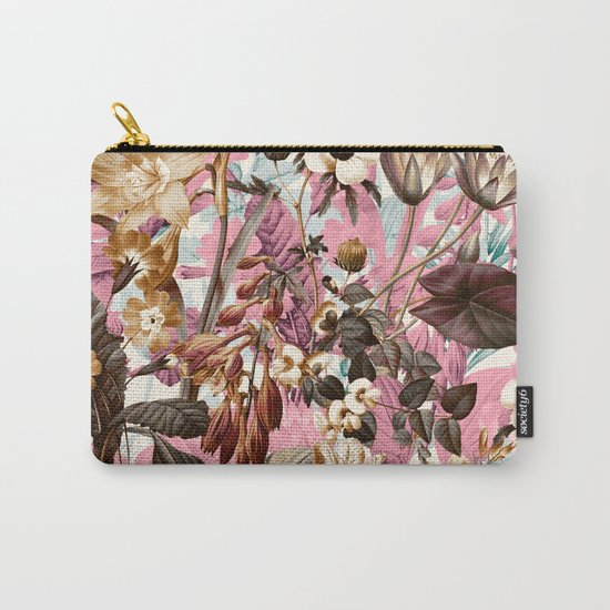Natural Summer Pattern Carry-All Pouch