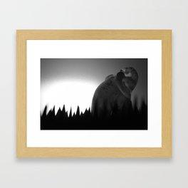 La Traque Framed Art Print