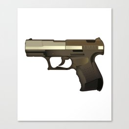 Glock 19 mm Canvas Print