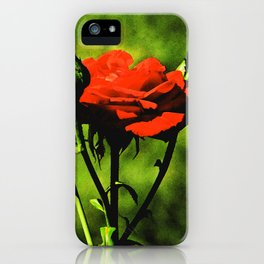 A Kiss from a Rose iPhone Case