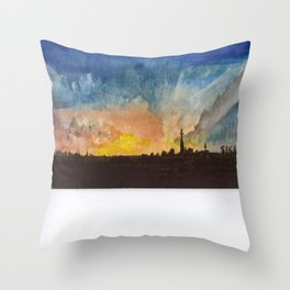 But I Was Imprisoned By God Throw Pillow
