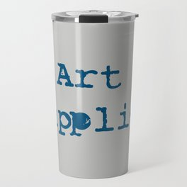 Art Supplies Travel Mug