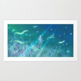 Mushi-shi Genko Art Print