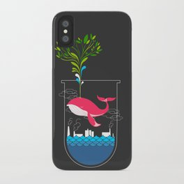 Nature Whale iPhone Case
