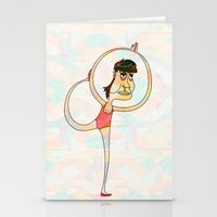 dancer Stationery Cards featuring Dancer by Mimi