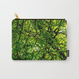 Tangled Green Carry-All Pouch