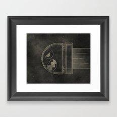 The Bullet Framed Art Print