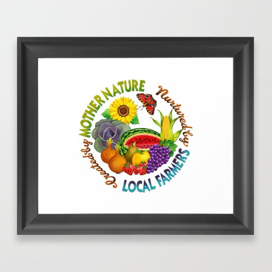 Created by Mother Nature.... Framed Art Print