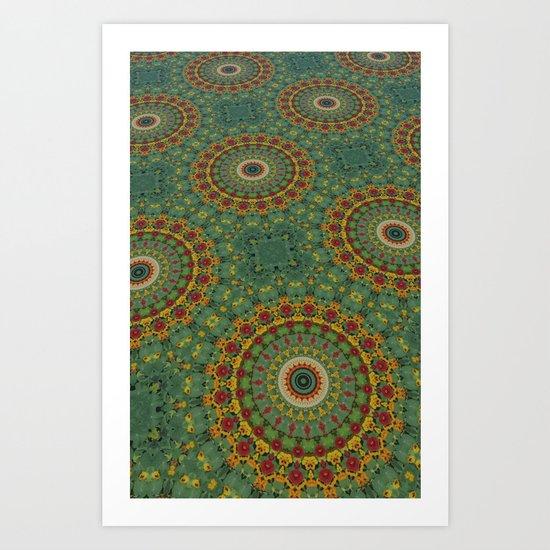 Kali-skin Art Print