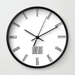 Landshut Wall Clock