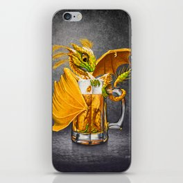 Beer Dragon iPhone Skin