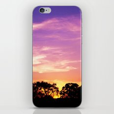 East Texas Sunset iPhone Skin