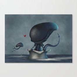 Xenolovers Canvas Print
