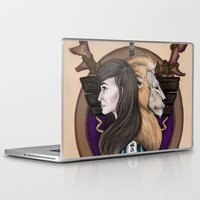 warcraft Laptop & iPad Skins featuring Lions! Make You Brave by Emily Anne Daugherty