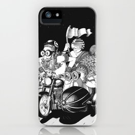 Babas on Bikes iPhone Case