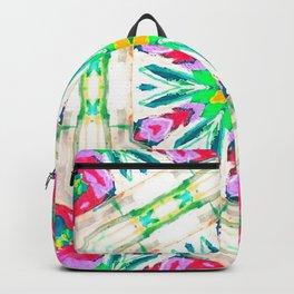 pansy petal parade Backpack