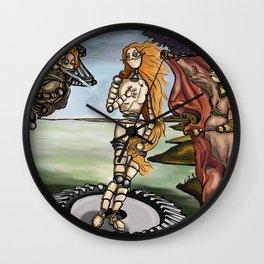 Building Venus Wall Clock